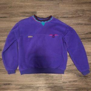 Vintage Columbia Purple sweater size Large